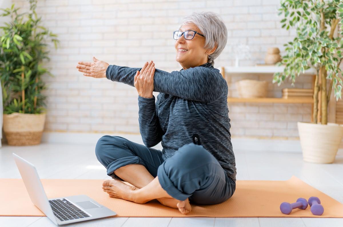 Origin Active Lifestyle Communities - Senior Woman Exercising