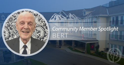 Bert, Community Member Spotlight | Whitehorn Village